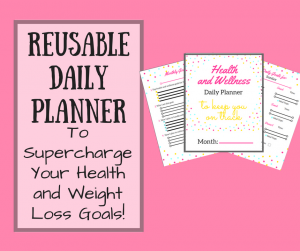 Reusable Daily Health Planner
