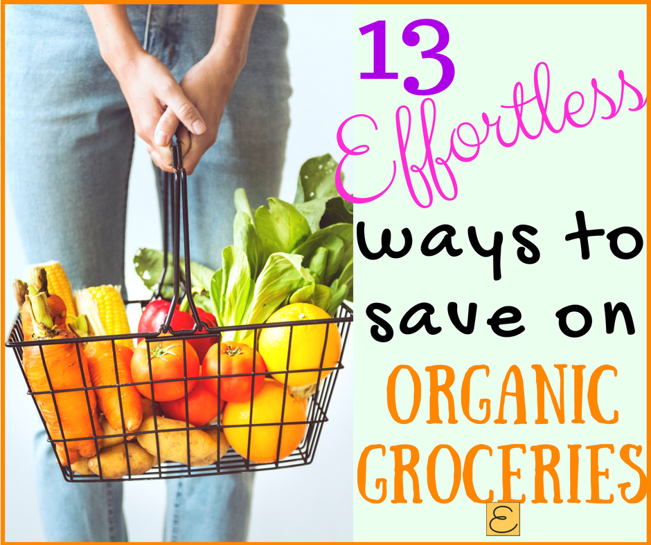 Save money on organic groceries