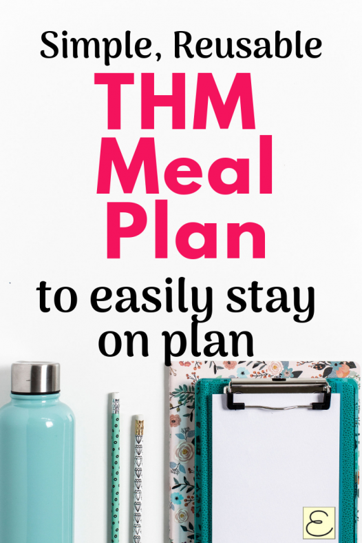 Reusable Trim Healthy Mama Meal Plan To Keep You On Plan